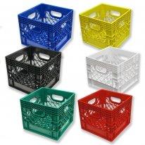 Set of 6 Square Milk Crates