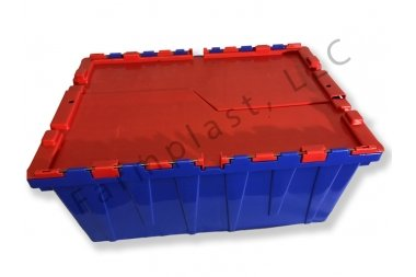 1 tough supply chain. 1 tougher container product. Plastic Tote Box