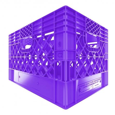 Rectangular Milk Crate 24QT