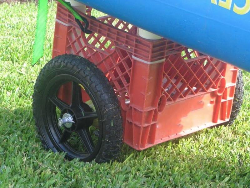 Milk crate trolley 2
