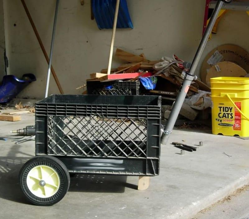 Milk crate trolley 1