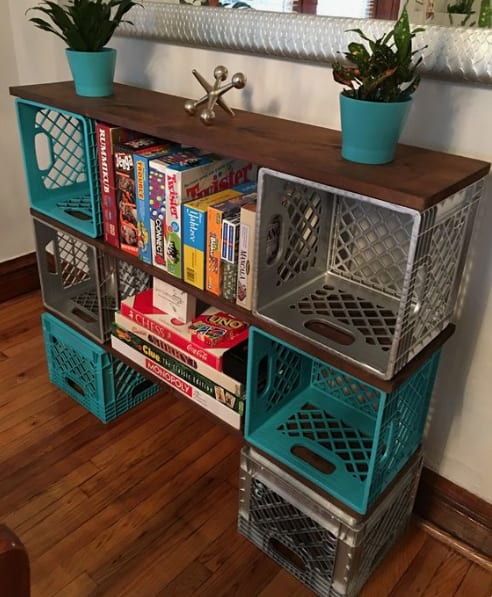 Sensational 10 Great Uses Of Milk Crates Youve Probably Never Thought Of Onthecornerstone Fun Painted Chair Ideas Images Onthecornerstoneorg