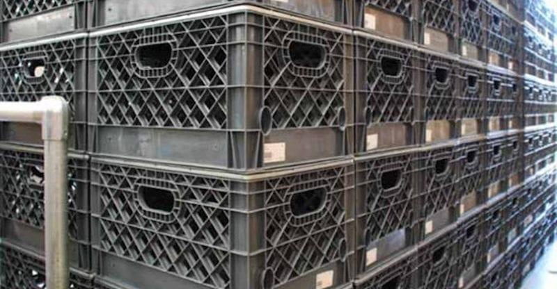 Industrial Milk Crates
