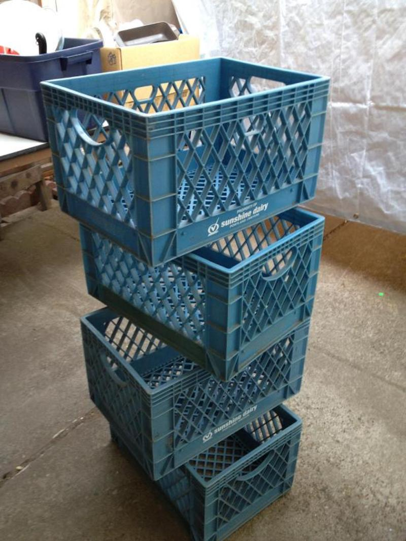 Milk Crates for cheap